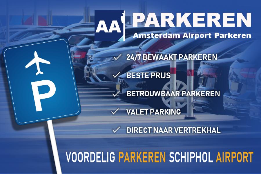 Amsterdam Airport Parkeren